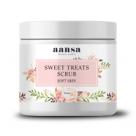Aansa's Sweet Treats Scrub For Soft Skin